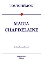 couverture Maria Chapdelaine